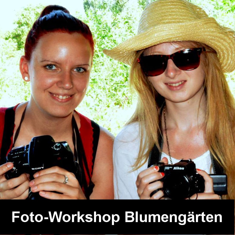 Foto Workshop Blumengärten